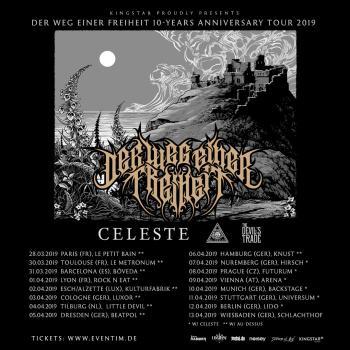 Au-Dessus supporting Der Weg Einer Freiheit 10th Anniversary Tour