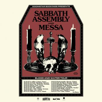 Messa on Tour with Sabbath Assembly - May 2019