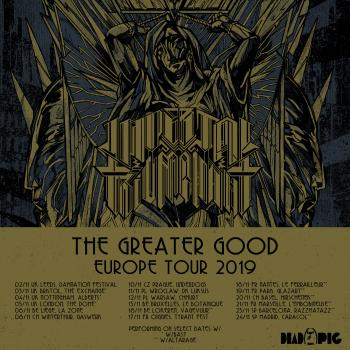 Imperial Triumphant + Guests / The Greater Good Europe 2019